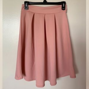 Women's Light Pink Skirt
